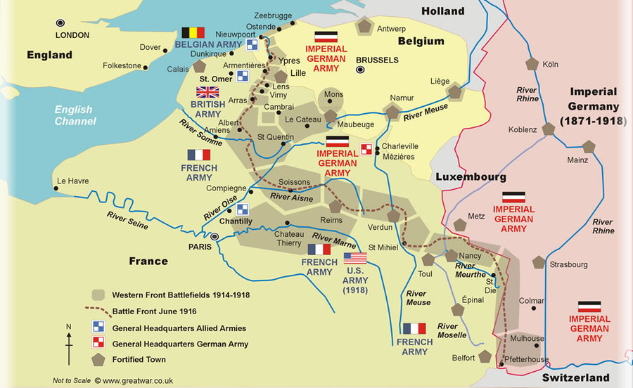 The Western Front | South African History Online